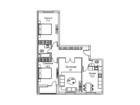 Продается 3-комн. кв-ра площадью 87,2 кв.м на 3 этаже 0 этаж