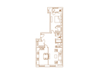 Продается 2-комн. кв-ра площадью 73,9 кв.м на 6 этаже 13 эта