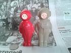 Увидеть фото Коллекционирование игрушка СССР 1960х Водолаз живая, и легендарная игрушка Льва Разумовского 68407640 в Москве