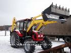 Скачать бесплатно фото Спецтехника ЭО-2626 экскаватор-погрузчик челюстной на базе МТЗ-92П 68814230 в Москве