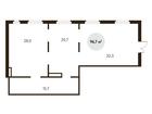 Группа Компаний ПИК предлагает нежилое помещение 96,7 кв.м в