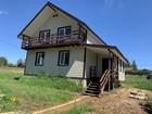 Увидеть фотографию  дом в деревне калужская область частные объявления дом у реки Нара 76534146 в Москве