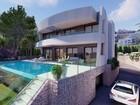 Скачать изображение  Недвижимость в Испании, Новая вилла с видами на море от застройщика в Морайра 80270726 в Москве