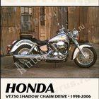 Продаётся книга по мотоциклу марки Honda vt750 shadow