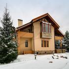 Дом расположен в небольшом, хорошо-охраняемом коттеджном пос