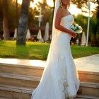 Продам элегантное брендовое свадебное платье в стиле рыбка