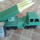 Машинка СССР 1970й Ракетная установка