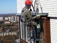 Монтаж отливов на окна Компания Альп-Пром-Сервис оказывает услуги по монтажу отл