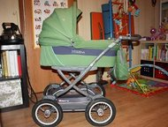 Коляска Espiro Modena Коляска с большими надувными колесами, что обеспечивает са