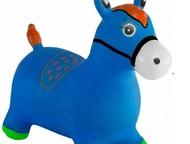 Лошадь-прыгунок,это мечта ребенка Лошадь-прыгунок Kid-hop (Кид Хоп) синяя - это