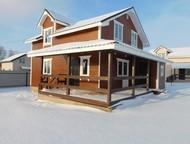 Дом в деревне Красное дача коттедж Киевское Калужское шоссе 8-15 соток ИЖС Новый