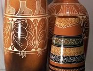 Большие красивые вазы, амфоры для декора квартиры и дачи Вазы для цветов напольн
