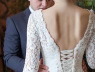 Продам свадебное платье Платье из шелковой нити, очень приятное и мягкое к телу,