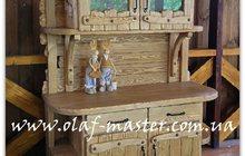 Мебель из дерева ручной работы под старину
