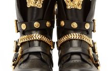 Сникерсы Versace leather medusa high-top