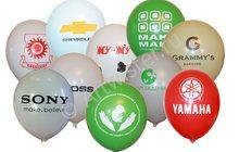 Нанесение логотипа на воздушных шарах
