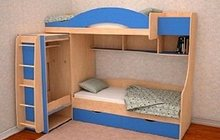 Кровать для 2 детей Облачко 5