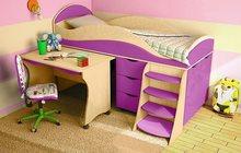 Кровать детская (3-12 лет) Караван 4М