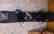 Продается хороший комплект для начинающих и продвинутых сноубордистов