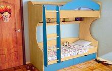 Двухъярусная кровать Облачко 4