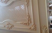 Декоративные решетки на радиатор,панели на стену с резным декором на заказ