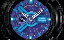 Часы G-shock 110RG, черно-голубые