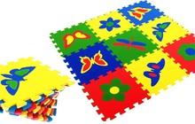 Детские развивающие коврики-пазлы