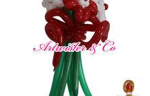 Цветы из воздушных шаров, Изготовление и доставка в Москве