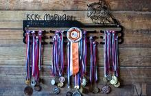 Держатели для медалей из стали - медальницы