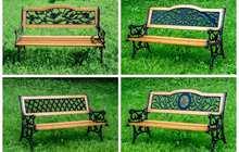 Кованые скамейки садовые