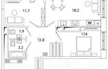 Продается уютная квартира в жилищном комплексе Среда от застройщика