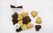Шоколадно-песочное печенье (пакет)
