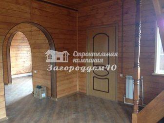 Новое фото Загородные дома Загородный коттедж на участке 15 соток Калужское шоссе 28979524 в Москве