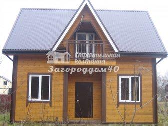 Свежее foto Загородные дома Продаю дом в деревне недорого Калужская область Боровский район 29322533 в Москве