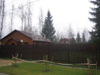Скачать бесплатно фото Загородные дома Коттедж из клееного бруса на участке 15 соток в окружении леса 29371995 в Москве
