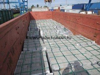 Смотреть фото Отделочные материалы Брусчатка гранитная полнопиленная 32332289 в Москве