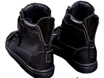 Смотреть foto Мужская обувь Сникерсы Giuseppe Zanotti High Top 32367430 в Москве
