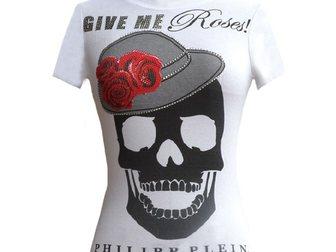Скачать изображение Женская одежда Футболка Philipp Plein Skull Cap 32385757 в Москве