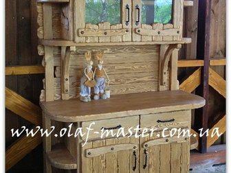 Увидеть фото  Мебель из дерева ручной работы под старину 32515554 в Москве