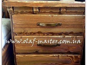 Увидеть foto  Мебель из дерева ручной работы под старину 32515554 в Москве