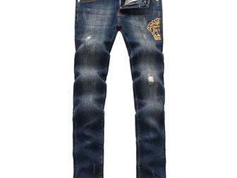 Уникальное фото Мужская одежда Джинсы Versace Medusa Jeans 32569211 в Москве