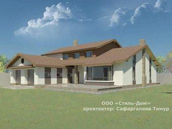 Свежее изображение  Архитектурный+рабочий проект за 150 руб/м2 32613339 в Новосибирске