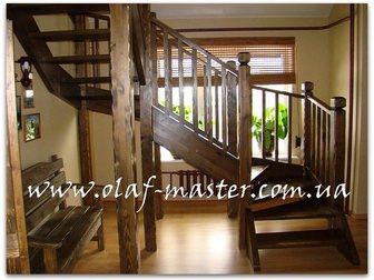 Свежее фотографию Производство мебели на заказ Лестницы из массива дерева на заказ 32629262 в Москве
