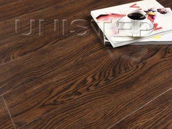 Уникальное изображение  Ламинат Unistep, Glossy, G710 Дуб Копченый 33 класс, 32652214 в Москве