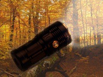 Просмотреть foto  Мощный фонарь SKYRAY 10000 люмен 7 диодов U2 (Мощнее T6) 32665377 в Москве