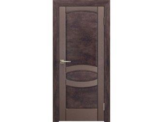 Новое фотографию  Межкомнатная дверь Европан, ЭКО-шпон, Combinato, Лион 1, Rosso legno, 32679479 в Москве