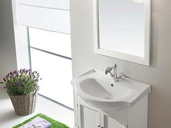 Уникальное фотографию Мебель для ванной Тумба с раковиной Eban Carla 75 32695729 в Москве