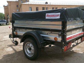 Скачать фото Прицепы для легковых авто Прицеп легковой Курганский Крепыш 8213 03 в полной комплектации 32776996 в Москве