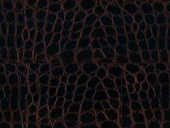 Уникальное фото  Эксклюзивные кожаные полы Barco Рептилия чёрно-коричневый, 32779748 в Москве