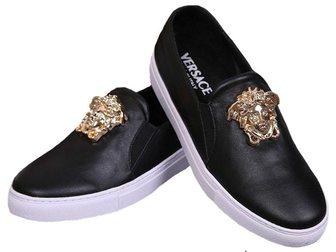 Уникальное foto Мужская обувь Кеды Versace Leather Medusa 32797639 в Москве